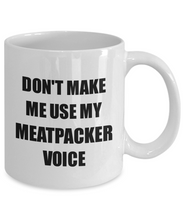 Load image into Gallery viewer, Meatpacker Mug Coworker Gift Idea Funny Gag For Job Coffee Tea Cup-Coffee Mug