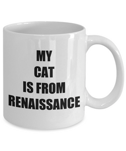 Renaissance Cat Mug Funny Gift Idea for Novelty Gag Coffee Tea Cup-Coffee Mug