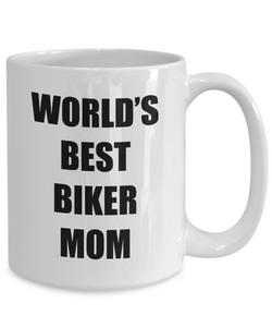 Biker Mom Mug Funny Gift Idea for Novelty Gag Coffee Tea Cup-Coffee Mug