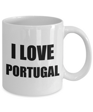Load image into Gallery viewer, I Love Portugal Mug Funny Gift Idea Novelty Gag Coffee Tea Cup-Coffee Mug