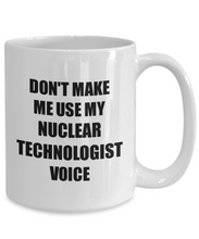 Load image into Gallery viewer, Nuclear Technologist Mug Coworker Gift Idea Funny Gag For Job Coffee Tea Cup-Coffee Mug