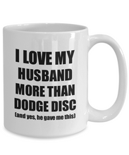 Load image into Gallery viewer, Dodge Disc Wife Mug Funny Valentine Gift Idea For My Spouse Lover From Husband Coffee Tea Cup-Coffee Mug