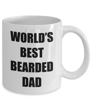 Load image into Gallery viewer, Bearded Dad Mug Best Funny Gift Idea for Novelty Gag Coffee Tea Cup-Coffee Mug
