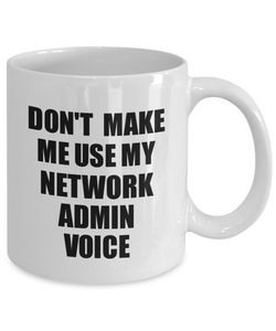 Network Admin Mug Coworker Gift Idea Funny Gag For Job Coffee Tea Cup Voice-Coffee Mug