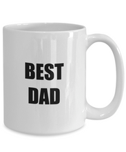 Load image into Gallery viewer, Bedt Dad Mug Funny Gift Idea for Novelty Gag Coffee Tea Cup-Coffee Mug