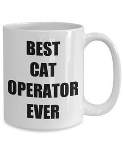 Cat Operator Mug Funny Gift Idea for Novelty Gag Coffee Tea Cup-[style]