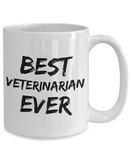 Load image into Gallery viewer, Veterinarian Mug Best Vet Ever Funny Gift for Coworkers Novelty Gag Coffee Tea Cup-Coffee Mug