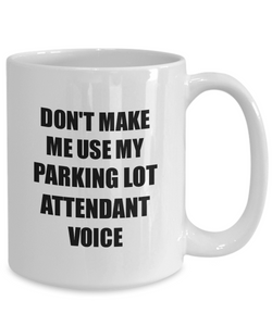 Parking Lot Attendant Mug Coworker Gift Idea Funny Gag For Job Coffee Tea Cup-Coffee Mug
