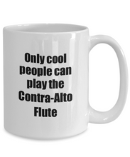 Load image into Gallery viewer, Contra-Alto Flute Player Mug Musician Funny Gift Idea Gag Coffee Tea Cup-Coffee Mug