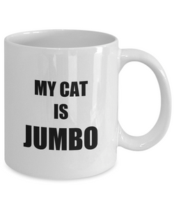 Jumbo Cat Mug Funny Gift Idea for Novelty Gag Coffee Tea Cup-[style]