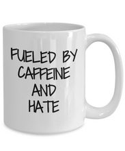 Load image into Gallery viewer, Caffeine And Hate Mug Coffee Tea Cup Funny Gift Idea For Novelty Gag-Coffee Mug