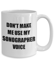 Load image into Gallery viewer, Sonographer Mug Coworker Gift Idea Funny Gag For Job Coffee Tea Cup-Coffee Mug