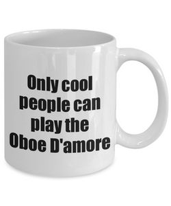 Oboe D'amore Player Mug Musician Funny Gift Idea Gag Coffee Tea Cup-Coffee Mug
