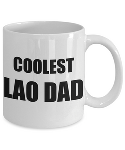 Lao Dad Mug Laotian Funny Gift Idea for Novelty Gag Coffee Tea Cup-Coffee Mug