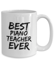 Load image into Gallery viewer, Piano Teacher Mug Best Ever Funny Gift Idea for Novelty Gag Coffee Tea Cup-[style]