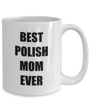 Load image into Gallery viewer, Polish Mom Mug Best Ever Funny Gift Idea for Novelty Gag Coffee Tea Cup-Coffee Mug
