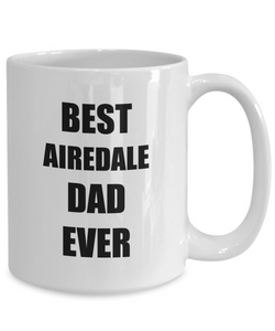 Airedale Dad Mug Terrier Dog Lover Funny Gift Idea for Novelty Gag Coffee Tea Cup-Coffee Mug