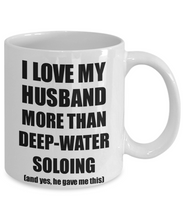 Load image into Gallery viewer, Deep-Water Soloing Wife Mug Funny Valentine Gift Idea For My Spouse Lover From Husband Coffee Tea Cup-Coffee Mug
