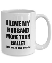 Load image into Gallery viewer, Ballet Wife Mug Funny Valentine Gift Idea For My Spouse Lover From Husband Coffee Tea Cup-Coffee Mug