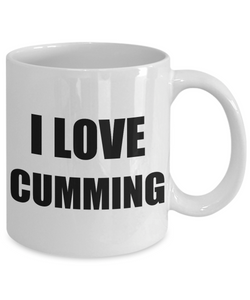 I Love Cumming Mug Funny Gift Idea Novelty Gag Coffee Tea Cup-[style]