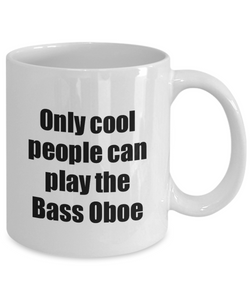 Bass Oboe Player Mug Musician Funny Gift Idea Gag Coffee Tea Cup-Coffee Mug