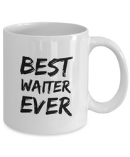 Load image into Gallery viewer, Waiter Mug Best Ever Funny Gift for Coworkers Novelty Gag Coffee Tea Cup-Coffee Mug
