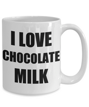 Load image into Gallery viewer, I Love Chocolate Milk Mug Funny Gift Idea Novelty Gag Coffee Tea Cup-[style]