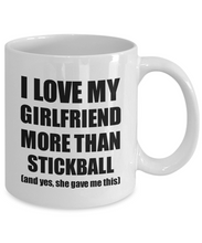 Load image into Gallery viewer, Stickball Boyfriend Mug Funny Valentine Gift Idea For My Bf Lover From Girlfriend Coffee Tea Cup-Coffee Mug