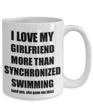 Load image into Gallery viewer, Synchronized Swimming Boyfriend Mug Funny Valentine Gift Idea For My Bf Lover From Girlfriend Coffee Tea Cup-Coffee Mug