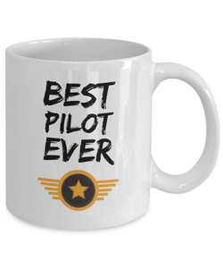 Pilot Mug Best Airline Army Jet Ever Funny Gift for Coworkers Novelty Gag Coffee Tea Cup-Coffee Mug