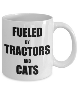 Cat Tractor Mug Funny Gift Idea for Novelty Gag Coffee Tea Cup-Coffee Mug