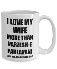 Load image into Gallery viewer, Varzesh-E Pahlavani Husband Mug Funny Valentine Gift Idea For My Hubby Lover From Wife Coffee Tea Cup-Coffee Mug