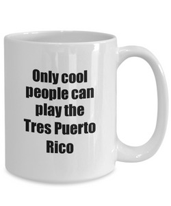 Tres Puerto Rico Player Mug Musician Funny Gift Idea Gag Coffee Tea Cup-Coffee Mug