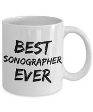 Load image into Gallery viewer, Sonographer Mug Sono Grapher Best Ever Funny Gift for Coworkers Novelty Gag Coffee Tea Cup-Coffee Mug