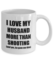 Load image into Gallery viewer, Shooting Wife Mug Funny Valentine Gift Idea For My Spouse Lover From Husband Coffee Tea Cup-Coffee Mug