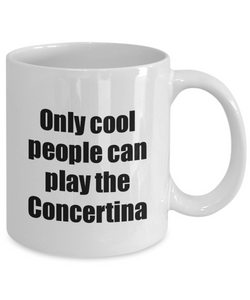 Concertina Player Mug Musician Funny Gift Idea Gag Coffee Tea Cup-Coffee Mug