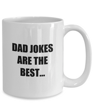 Load image into Gallery viewer, Dad Jokes Mug Best Joke Funny Gift Idea for Novelty Gag Coffee Tea Cup-Coffee Mug