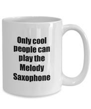 Load image into Gallery viewer, Melody Saxophone Player Mug Musician Funny Gift Idea Gag Coffee Tea Cup-Coffee Mug