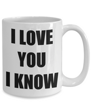 Load image into Gallery viewer, Leia I Love You Mug Funny Gift Idea Novelty Gag Coffee Tea Cup-Coffee Mug