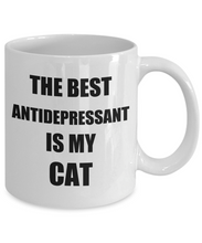 Load image into Gallery viewer, Cat Antidepressant Mug Funny Gift Idea for Novelty Gag Coffee Tea Cup-[style]