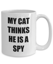 Load image into Gallery viewer, Spy Cat Mug Funny Gift Idea for Novelty Gag Coffee Tea Cup-Coffee Mug