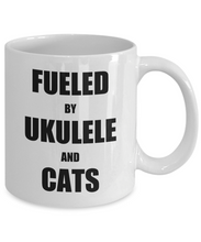 Load image into Gallery viewer, Cat Ukulele Mug Funny Gift Idea for Novelty Gag Coffee Tea Cup-[style]