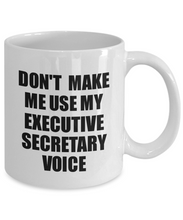 Load image into Gallery viewer, Executive Secretary Mug Coworker Gift Idea Funny Gag For Job Coffee Tea Cup Voice-Coffee Mug