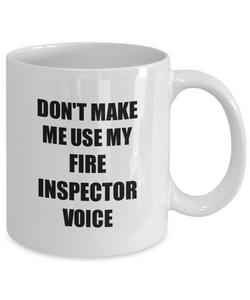 Fire Inspector Mug Coworker Gift Idea Funny Gag For Job Coffee Tea Cup-Coffee Mug