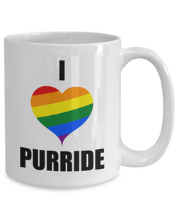 Purride Cat Mug Funny Gift Idea for Novelty Gag Coffee Tea Cup-Coffee Mug