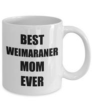 Load image into Gallery viewer, Weimaraner Mom Mug Dog Lover Funny Gift Idea for Novelty Gag Coffee Tea Cup-Coffee Mug