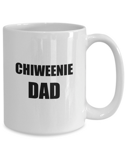 Chiweenie Dad Mug Funny Gift Idea for Novelty Gag Coffee Tea Cup-[style]
