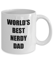 Load image into Gallery viewer, Nerdy Dad Mug Funny Gift Idea for Novelty Gag Coffee Tea Cup-[style]