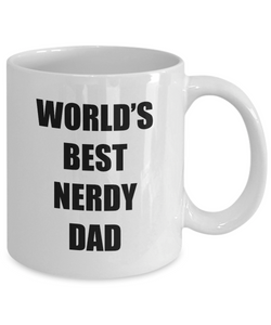 Nerdy Dad Mug Funny Gift Idea for Novelty Gag Coffee Tea Cup-[style]