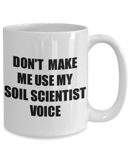 Load image into Gallery viewer, Soil Scientist Mug Coworker Gift Idea Funny Gag For Job Coffee Tea Cup Voice-Coffee Mug